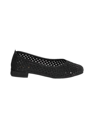 Mhd 321 Siyah Kadın Günlük Ayakkabı Siyah